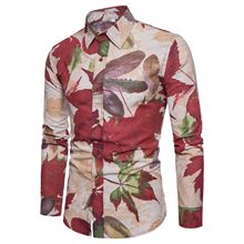 Mens shirts, long sleeve casual mens clothes, Street dresses shirt