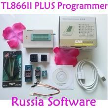 Yeni XGecu TL866II PLUS programcı + 6 adaptörleri değiştirin MiniPro TL866CS TL866A Bios USB programcı adaptörü