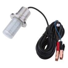 12V 30W светодиодный погружной рыболовный светильник, водонепроницаемая подводная лампа