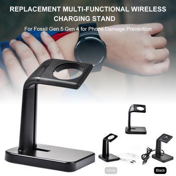新しい交換多機能ワイヤレス充電充電スタンド化石世代 5 世代 4 用電話損傷予防 -