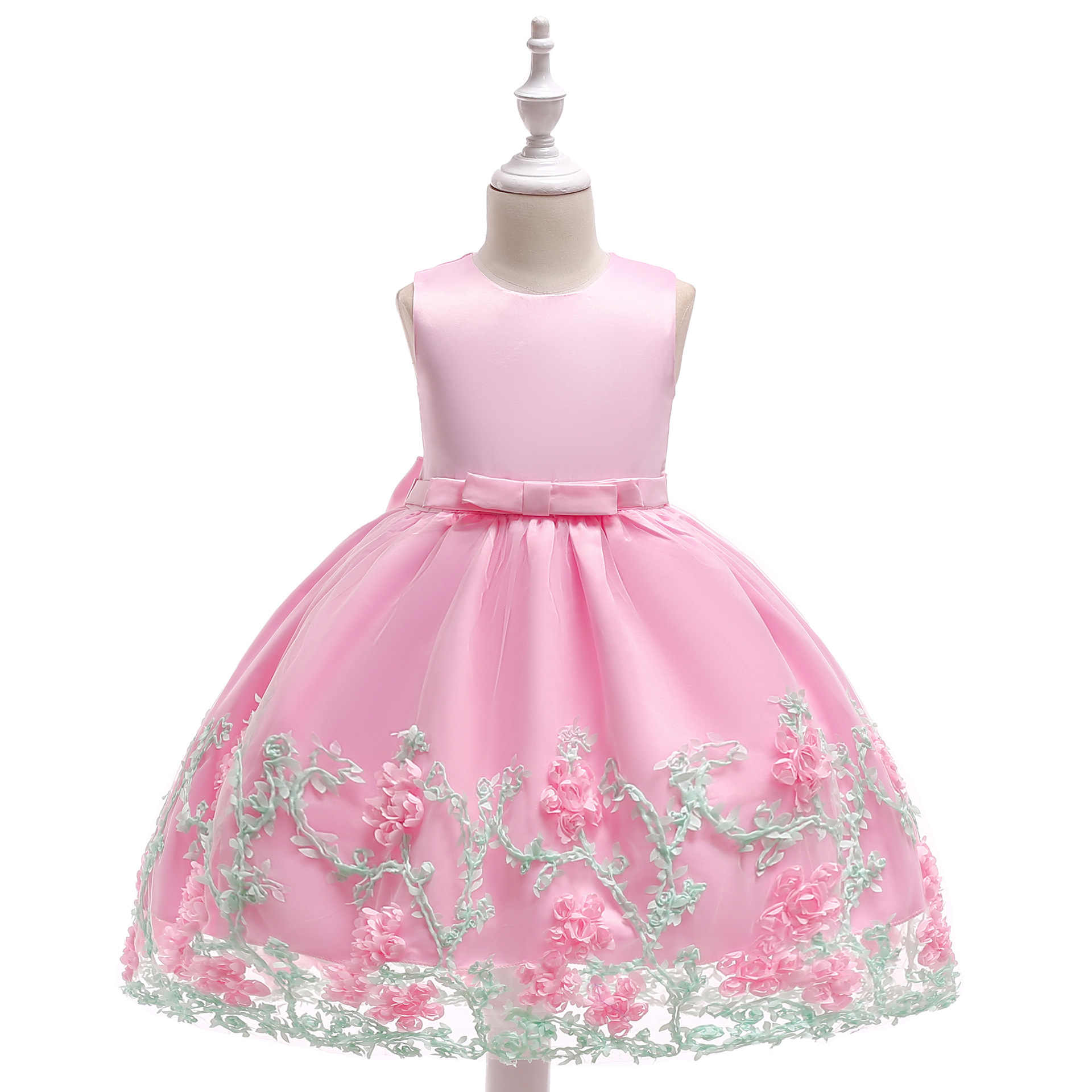 גבוהה באיכות נסיכת פרח ילדה שמלת קיץ טוטו חתונה מסיבת יום הולדת ילדים שמלות ילדים תלבושות נער לנשף עיצובים