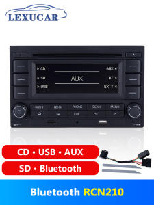 LEXUCAR Cd-Player Car-Radio Polo 9n RCN210 MK4 Bluetooth VW Golf Jetta Passat B5 MP3