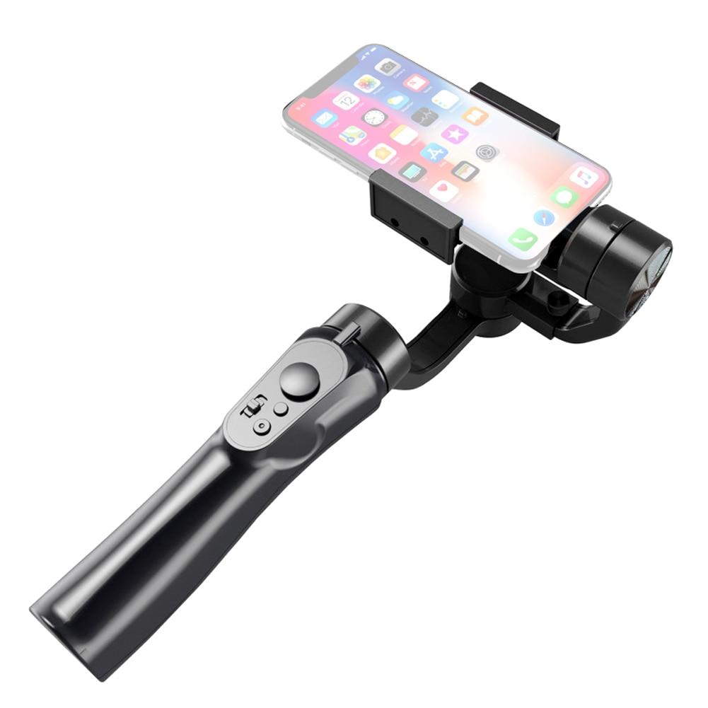 Phone Holder Feiyu Folding Mini Handheld 3-Axis Stabilizer Pole Monopod Tripod for Smartphone Vlog Live Video Gimbal Stabilizer for Smartphone