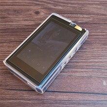Ultra cienki miękki przezroczysty etui ochronne z TPU dla Lotoo Paw Gold Touch wymienna obudowa Shell Case z ekranem szkło hartowane
