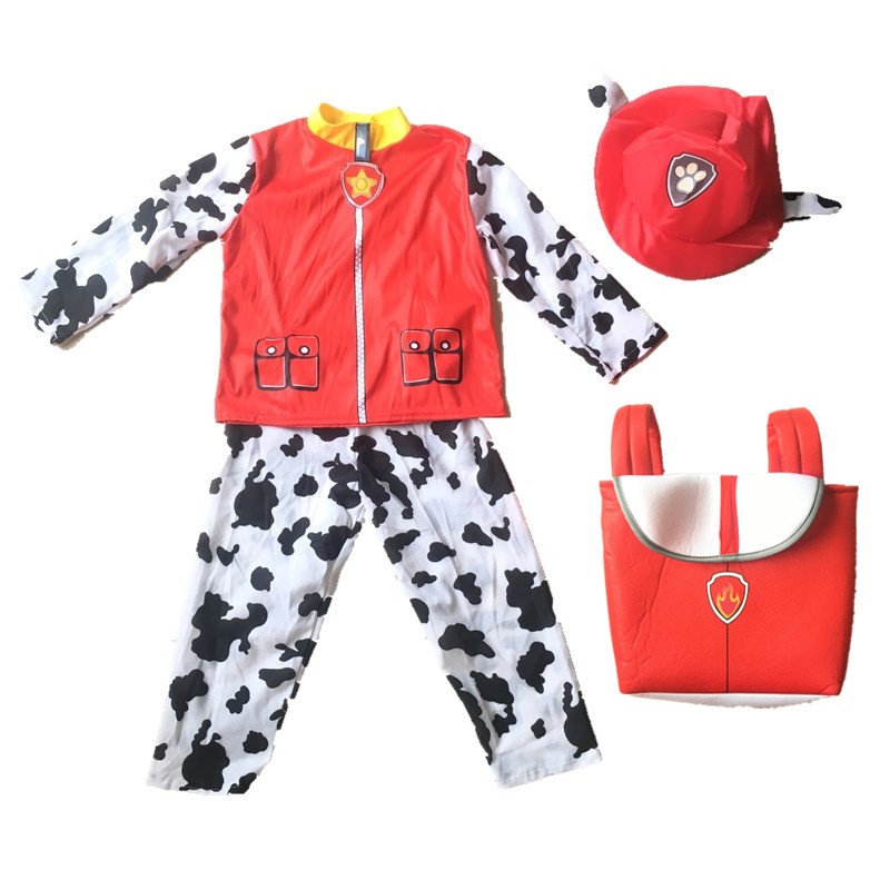2020 New Dogs Costume Kids Birthday Marshall Chase Skye Cosplay Costume Boys Girls Carnival Party Costume 4