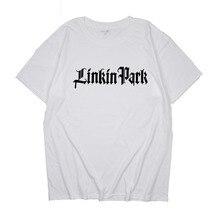 Hot Sale Fashion Fashion High Quality Printing T-shirts Linkin Park T Shirt 100% Cotton Short Sleeve Tee Round Neck цена