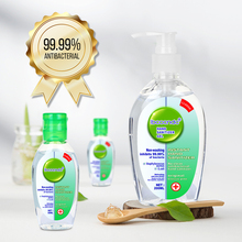 Anti Bacterial Waterless Hand Sanitizer Hand Disinfection Gel No-clean Quick-Dry Disposable Handgel 75% Ethanol 200ml+2pcs 50ml
