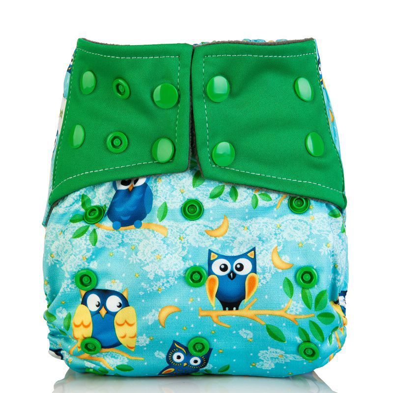 New Arrival Baby Cloth Diaper Cover Waterproof Cartoon Fox Baby Washable Diapers Pocket Reusable Cloth Nappies