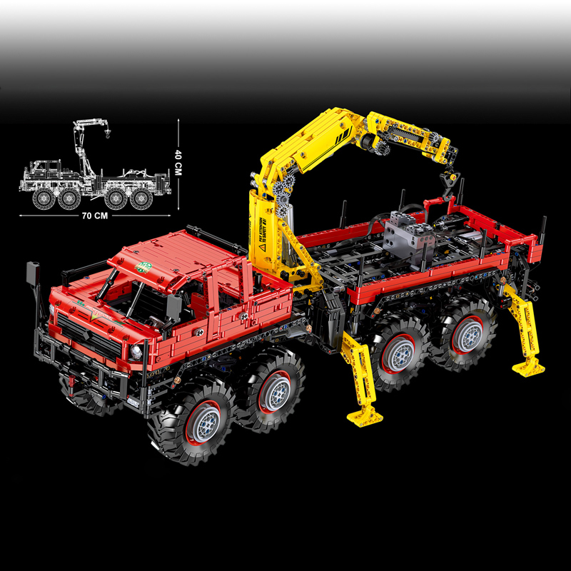 TECHNIC Mouldking 13146 Articulated 8×8 Offroad Truck