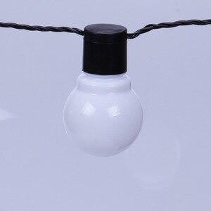 Image 4 - Edison LED lampa ogrodowa łańcuchy świetlne 5M 10M 220V Patio na świeżym powietrzu Yard krajobraz ślub dekoracje świąteczne