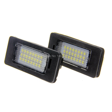 40 x Car LED Number License Plate Lamps Canbus OBC Error Free 24 SMD Lights For BMW E39 E80 E82 E90 E91 E92 E60 E61 E70 E71