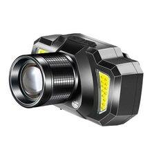 Светильник налобный фонарь мощсветильник перезаряжаемый суперъяркий