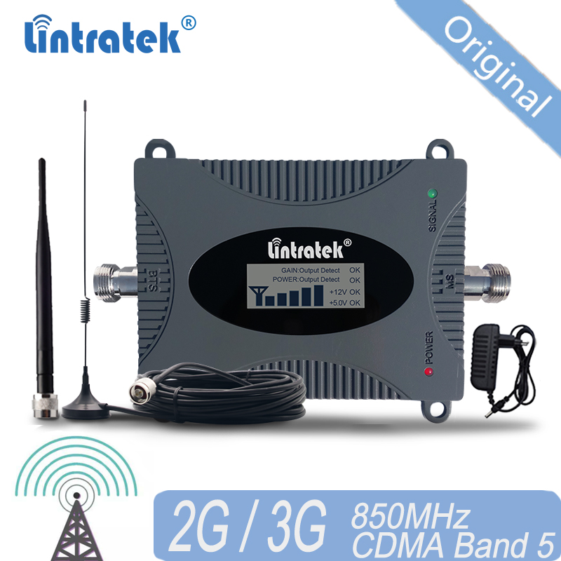CDMA Signal Repeater GSM 850 MHz 2G 3G 4G 850mhz UMTS GSM Mobile Phone Signal Repeater Booster Cell Phone Signal Amplifier 20