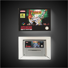 Super Turrican   EUR Version Action Game Card with Retail Box