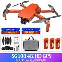 SG108 4k GPS Drone HD Camera Brushless professionale Wifi 5G FPV Quadcopter 1km 25 minuti volo RC elicottero Drone sotto 250g