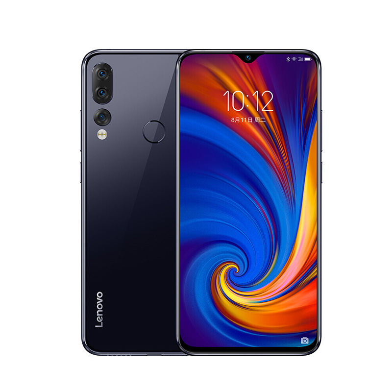Глобальный Встроенная память lenovo мобильного телефона 6 ГБ 64/128GB смартфон Z5S 6,3 дюймов 2340*1080 сзади Камера 16.0MP 8.0MP 5.0MP Восьмиядерный телефоны - Цвет: Gray