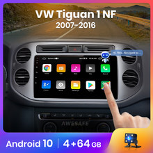 AWESAFE PX9 für Volkswagen Tiguan 2012 1 NF 2006 - 2017 Auto Radio Multimedia video player GPS Keine 2din 2 din android 10,0 2GB + 32GB