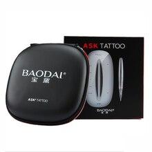 1 Набор Профессиональный постоянный макияж татуировочная машинка машина перманентные Брови Карандаш для губ татуировка пистолет с держателем Стенд