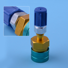 DWCX 7*2cm Low Side Coupler to R134A Hose Adapter Quick Fitting Connector Tool R1234YF Accessories