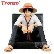 Tronzo original novo anime uma peça criador x criador macaco. D. Luffy pvc figura bonecas modelo de ação