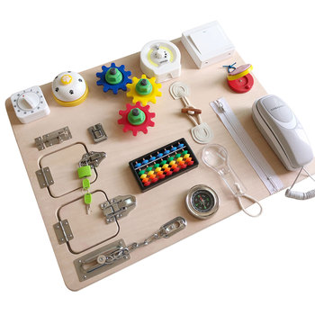 montessori-learning-toys-toddlers-locks-latches-board-game-kids-montessori-educational-wooden-board-toy-for-13-24-36-month-baby