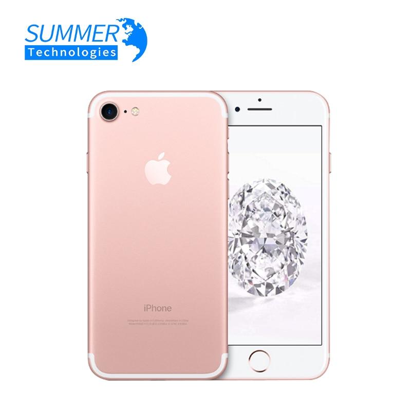 Apple IPhone 7 Smartphone Original Apple IPhone 7 Quad-Core Mobile Phone 12.0MP Camera IOS LTE 4G Fingerprint Used