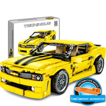 Toys For Children Sports Car Racing Model Kit Compatible Legoing DIY Assembled Educational Building Blocks Brick Kids Gift O25 цена 2017