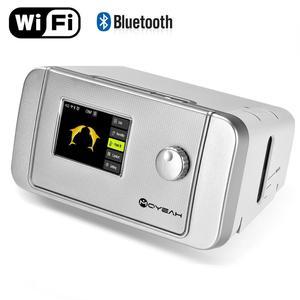 Image 1 - Moyes Auto CPAP/APAP جهاز التنفس 20A لتوقف التنفس أثناء النوم OSA مكافحة الشخير التنفس الصناعي مع واي فاي الإنترنت المرطب CPAP قناع