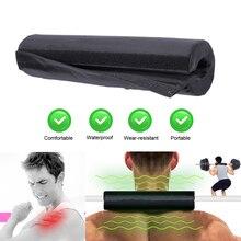 Подставка для штанги, поролоновая защита для шеи и плеч, высокоэластичная, из ткани Оксфорд, для фитнеса