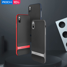 ROCK чехол Anti knock Case for iPhone XS Max XS 2018 case Royce Case Ultra Thin Slim Armor Cover Hard PC+Soft TPU Back