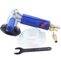3 Polegada injeção de água moinho de água pneumático profissional lixadeira de água ar molhado máquina de polimento Máquina de moer     -