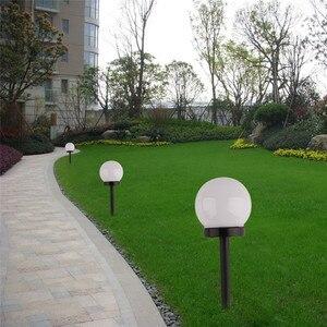 Image 3 - 6 sztuk/partia światła słonecznego ogród wodoodporna żarówka LED trawnik ogród światła na zewnątrz Camping noc światła zasilany energią słoneczną krajobraz lampy