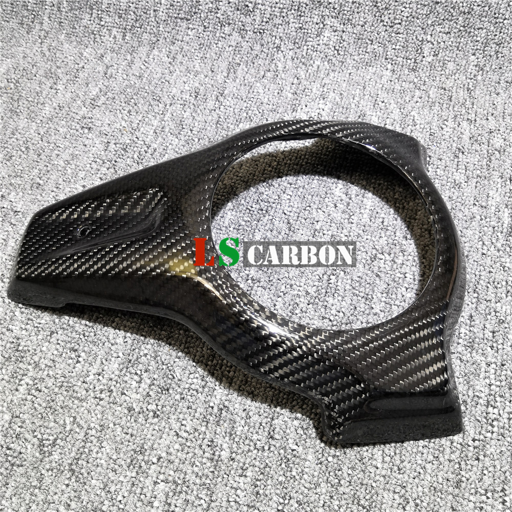 For BMW S1000XR 2015-2018 2016 2017 Full Carbon Fiber Motorcycle Accessories Fuel Tank Keyhole Decoration