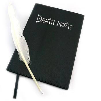 2021 Death Note Planner Anime Diary Cartoon Book Lovely Fashion Notebook Theme Cosplay Large Dead Note Writing Journal Notebook 1