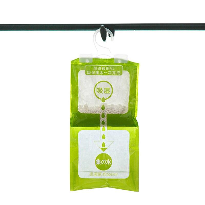 Desiccant Bags Dehumidifier Wardrobe Packet Closet Absorbent Moisture Hang Household Moisture Cabinet Closet Anti Mold Bathroom