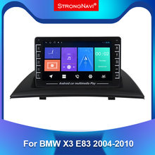 Android sistemi 2.5 IPS için BMW X3 E83 2004-2010 araba radyo multimedya oynatıcı Autoradio Atereo GPS navigasyon WIFI BT