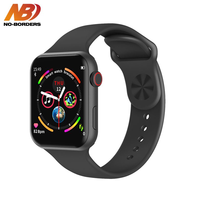 NO-BORDERS F10 Smart Watch ECG Heart Rate Monitor IWO 10 Sport Smartwatch for Android Apple xiaomi band PK IWO 8 12 Watch