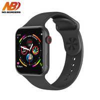 NO-BORDERS F10 Smart Watch ECG Heart Rate Monitor IWO 10 Sport Smartwatch for Android Apple xiaomi band PK IWO 8 12 Watch