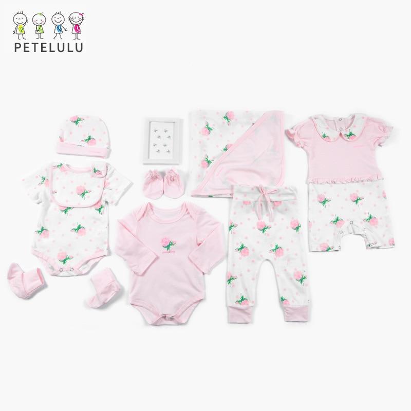 2020 Spring And Summer Childrenswear 0-March Newborns Baby Gift Box Processing Top Grade Pure Cotton BABY'S Underwear Set
