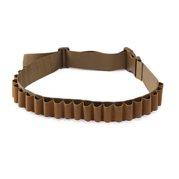 27 Rounds Hunting Bullet Ammo Tactical Military Airsoft Shotgun Shell Bandolier 12 Gauge Belt molle pouch hunting accessories 1