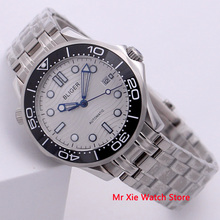 Bliger 41mm Men Watch Stainless Steel Strap Sapphire Crystal