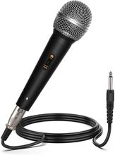 Depusheng C1 Classic Traditional Wired Handheld High Quality Microphone For Karaoke Part Singing Vocal Music Performance Hot DJ
