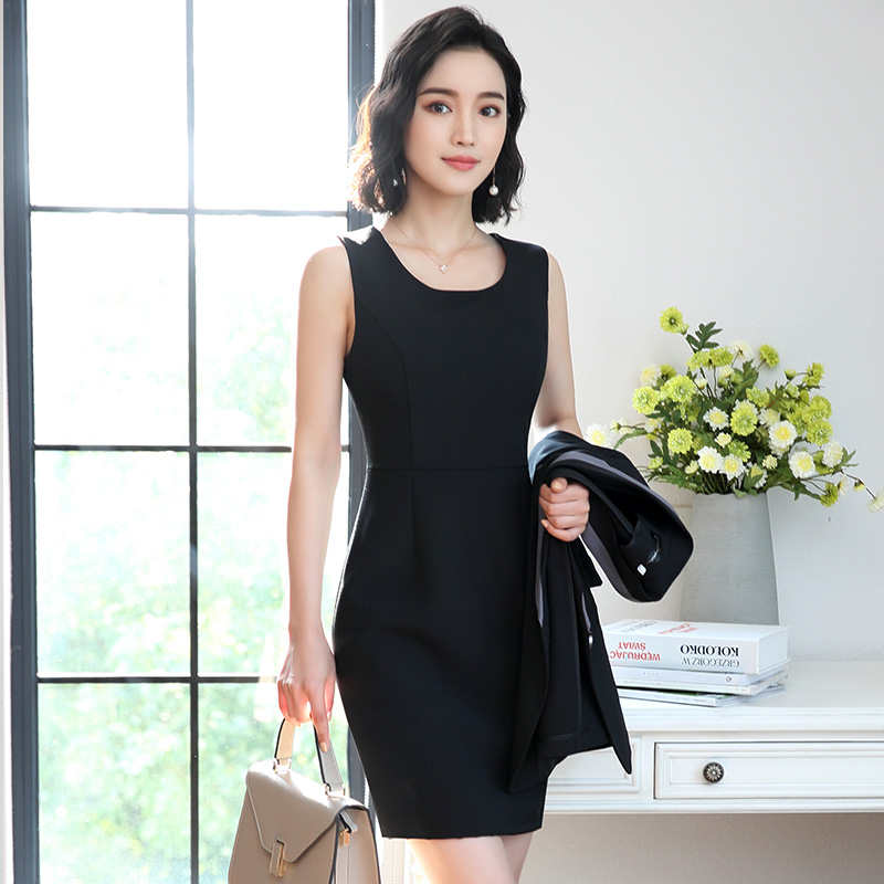 Dress Suits For Women Ladies Office Work Wear Long Sleeve Jacket Blazer Elegant 2 Piece Set Business Formal Professional Clothes