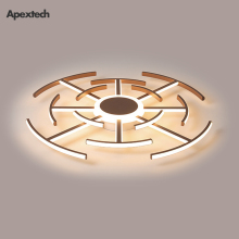 Spiderweb Designed LED Ceiling Lamp Alumium Acrylic Modern Creative Chandelier Lights Living dining room Lighting Fixtures