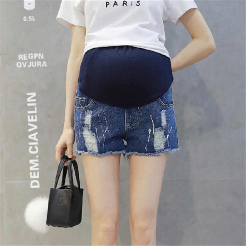 Pantalones Cortos De Mezclilla Para Maternidad Pantalones Vaqueros Para Embarazadas Pantalones Vaqueros Para Embarazadas Ropa Para Embarazadas Con Agujero En El Vientre Pantalones De Maternidad Ropa E0117 Pantalones Vaqueros Aliexpress