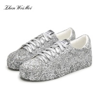 Glossy Silver Sneakersneakers Women Shoes Woman Platform Sapatos Star Canvas Shoes Men Women Low Classic Skateboarding Shoes