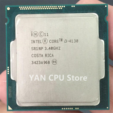 Feer shipping Intel Core i3 4130 3.40GHz 512KB/3MB Socket LGA1150 Haswell CPU Processor SR1NP