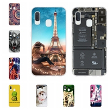 For Samsung Galaxy A20e Case Soft Silicone SM-A202F Cover Animal Patterned Capa