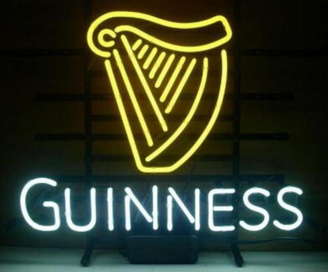 Custom GUINNESS Glass Neon Light Sign Beer Bar