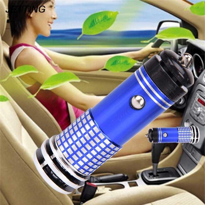1pcs Auto Purificatore D'aria Ionizzatore 12V Ioni Negativi Dell'aria Purificatore D'aria Auto Rimuovere Fumo Eliminator Per Auto home Office